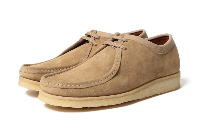 "Beams recreates the ""Original Wallaby"" from Padmore & Barnes into a stylish low cut!"