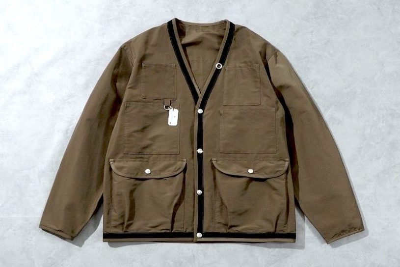 A hiking jacket that you can wear in the city without the need for a bag! The latest collaboration piece from Bamboo Shoot x Mountain Research!