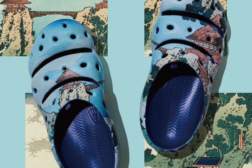 Keen x Ernest's latest work is a combination of Katsushika Hokusai's iconic art with modern footwear.