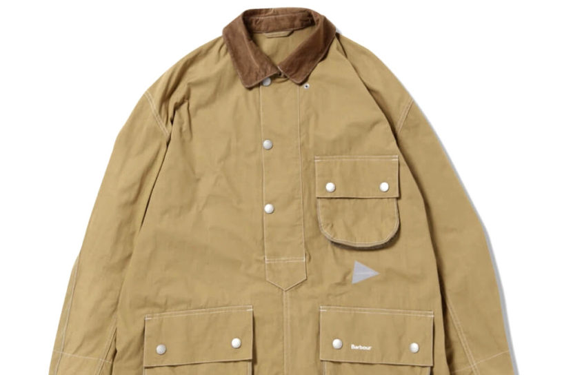 The third popular collaboration between Barbour and And Wander. Masterpieces of the 1950s adapted into light urban wear!