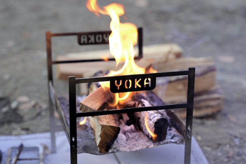 A lightweight model joins YOKA's popular bonfire series, which lets you enjoy cooking over a real fire!