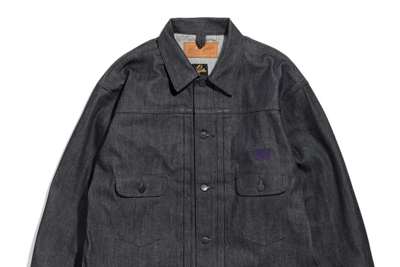 Needles updates Wrangler's classic. Check out the fascinating second collaboration, with two types of denim!