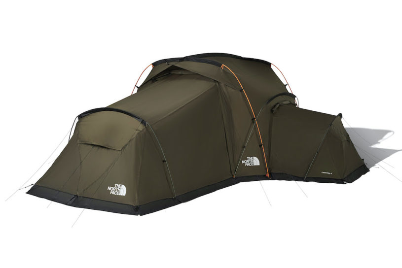The North Face's new connectable tent series is now on sale!