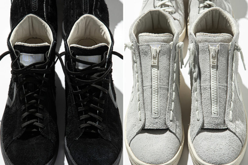 The latest collaboration between Nonnative and Converse. Classic basketball shoes are recreated with a one tone, minimalist design.
