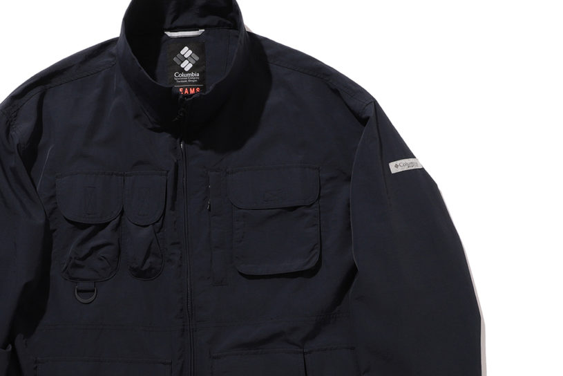 Japan's first ever limited edition product from the Columbia Fishing Line. The Fishing JKT has been created in the BEAMS style to create an urban aesthetic!