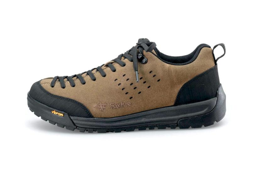 Foxfire's amphibious shoes with a nubuck suede upper.