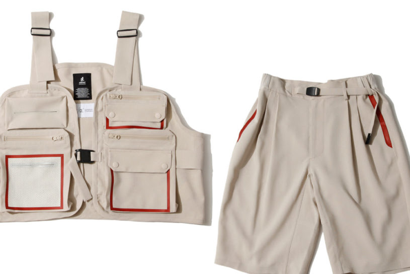 F / CE. adapts Gramicci's functional clothing into street wear. A sophisticated seamless collections.
