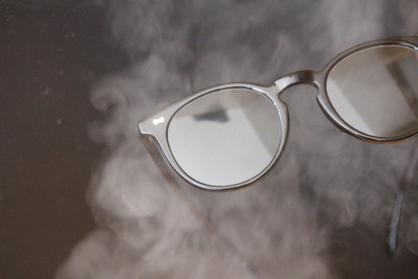 New sunglasses to help support the new normal from Ayame, that do not fog up even when wearing a mask.