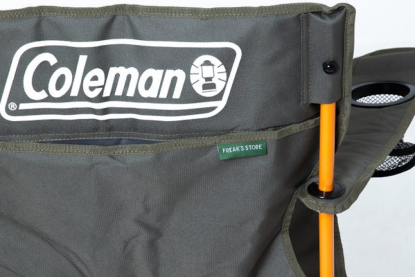 The latest popular collaboration between Coleman and Freaks Store featuring military style color leisure gear is now available.