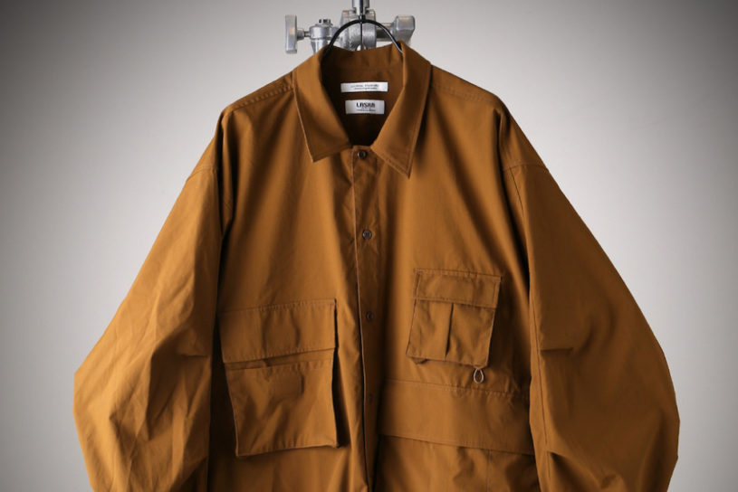 """Fashion-oriented air-conditioned clothes. Cool collaboration wear for summer from the popular label """"Laska""""."""
