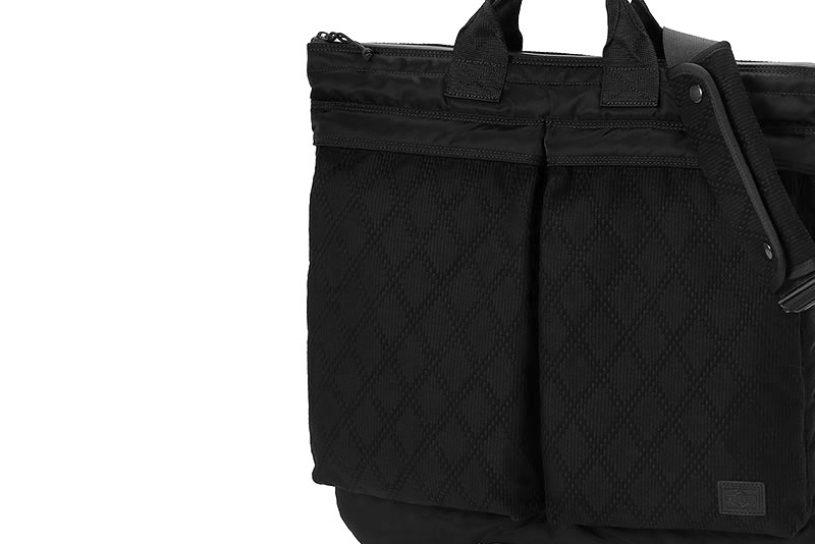 "A tough Porter bag made from Jiu-jitsu uniforms. An original and unique collaboration collection with a Jiu-jitsu ""Gi' brand from California."