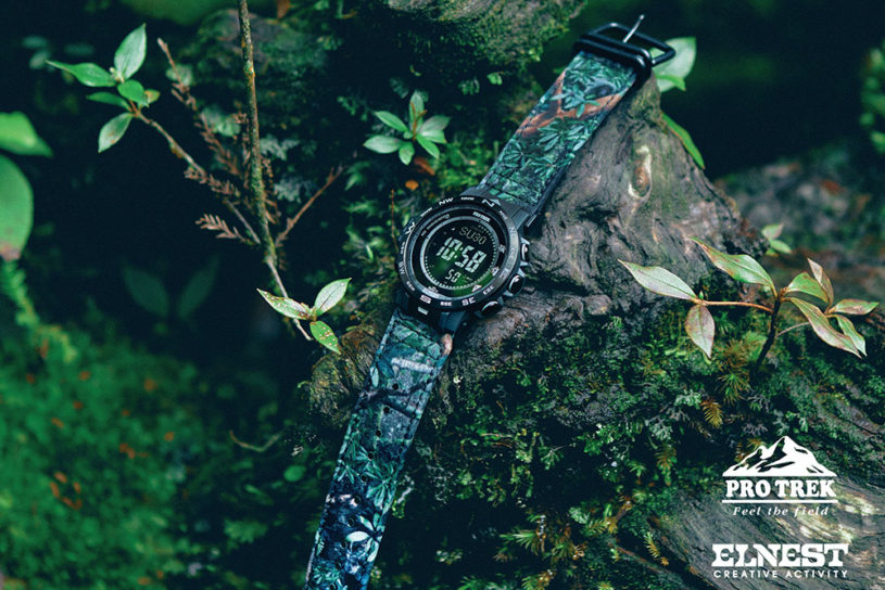 The latest ground breaking collaboration between Elnest and Pro Trek focuses on a band with a motif of Yakushima.