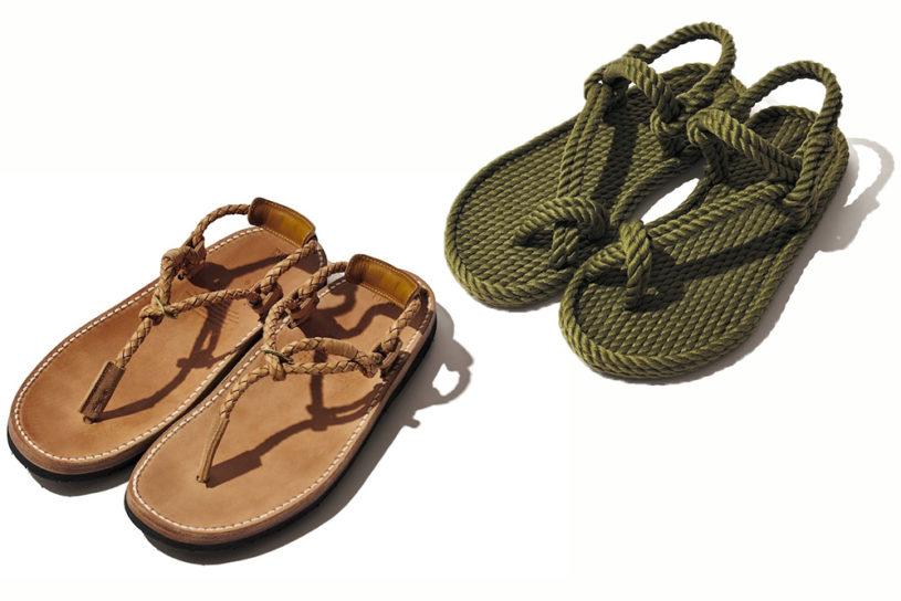 Two unique new barefoot style sandals!!