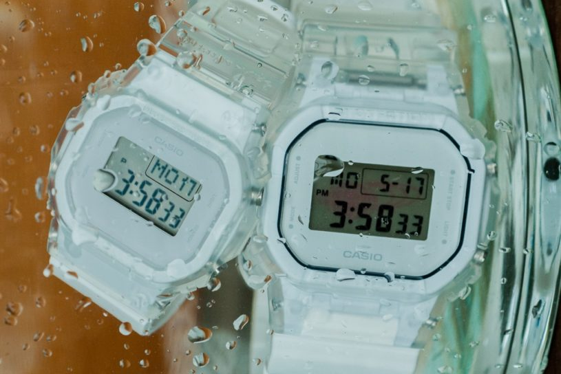 Clear crazy color G-Shock! A refreshing new model exclusive to BEAMS.