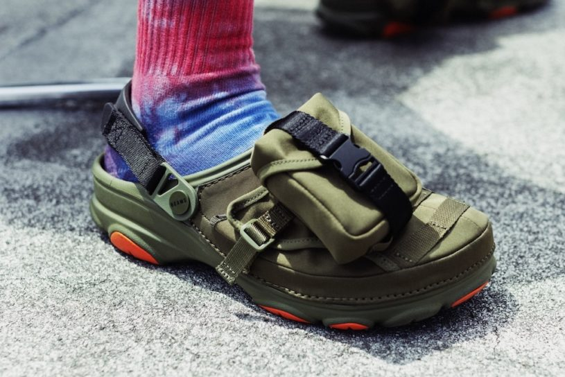 The latest collaboration between Crocs and BEAMS! Two military and outdoor versions are now available.