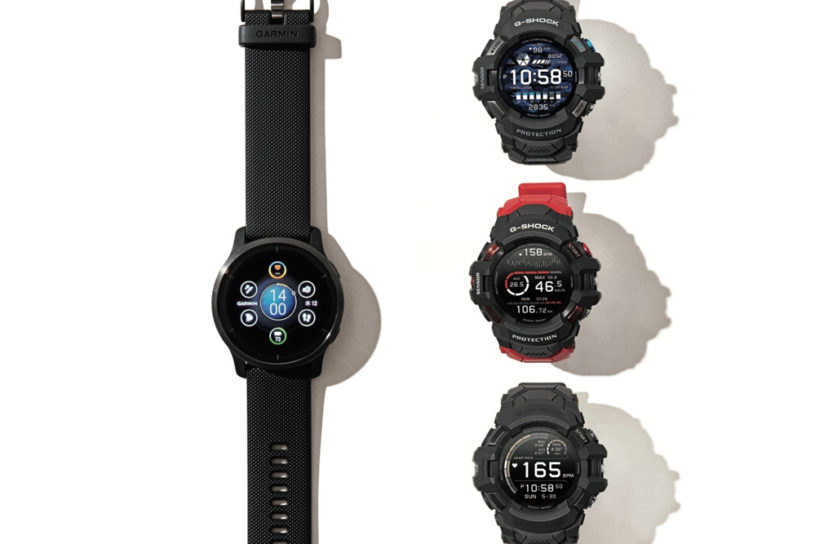 Battle of the summer Smart Watch! Check out the latest pieces from two major brands, Garmin and G-Shock.