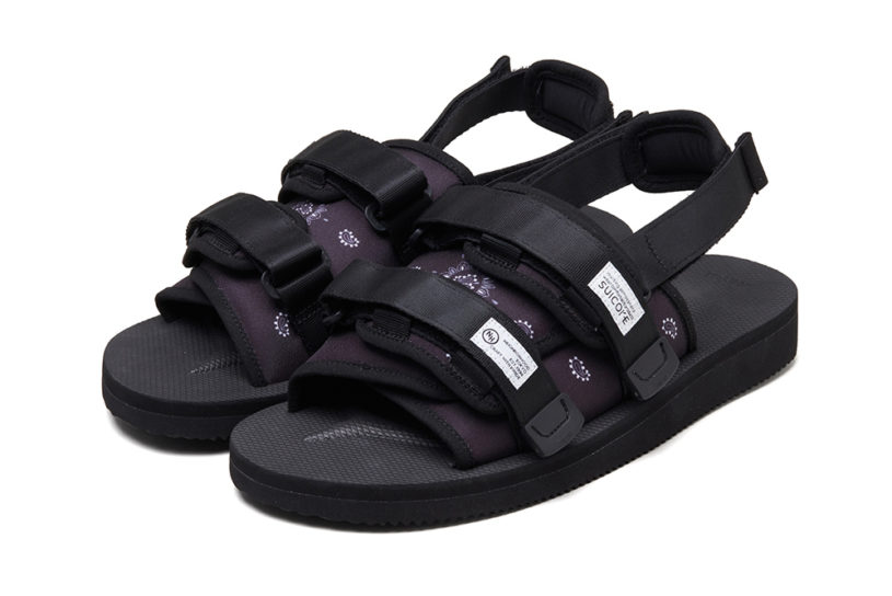 """Suicoke and Neighborhoods first collaboration! Popular staple mode active sandals with """"heels"""" now added."""