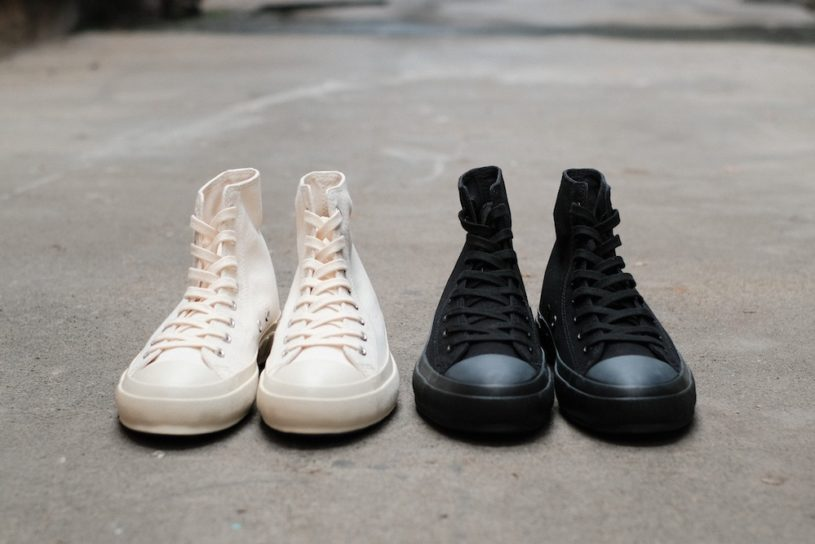 Check out MoonStar's limited edition sneakers made by a rare Vulcanization method.