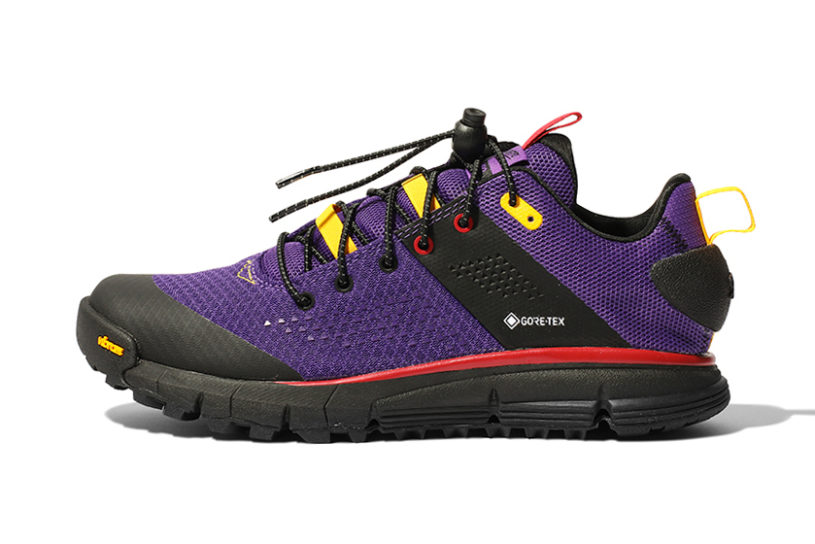 The latest collaboration between Danner and Snow Peak. A pair of popular trail shoes with a campsite vibe.