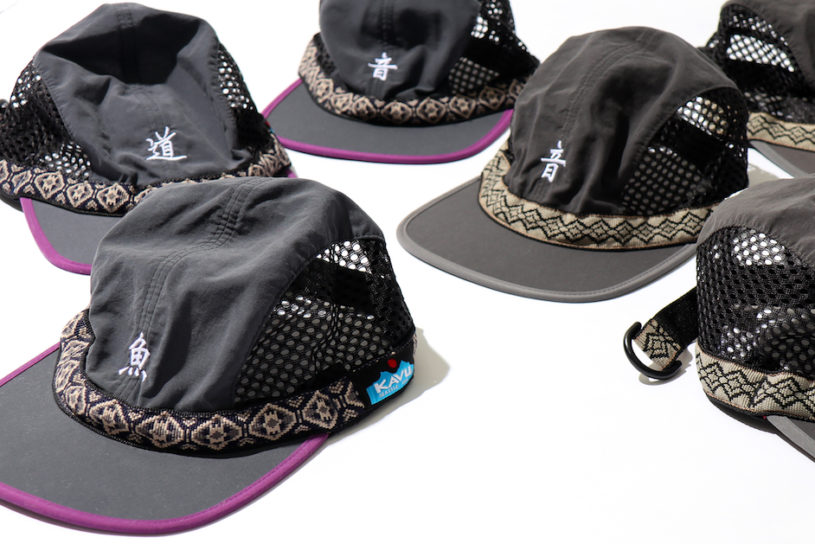 """New to the popular embroidery cap series from Cal O Line × Kavu!, the """"Road"""" and """"Sound"""" join the ranks this season."""
