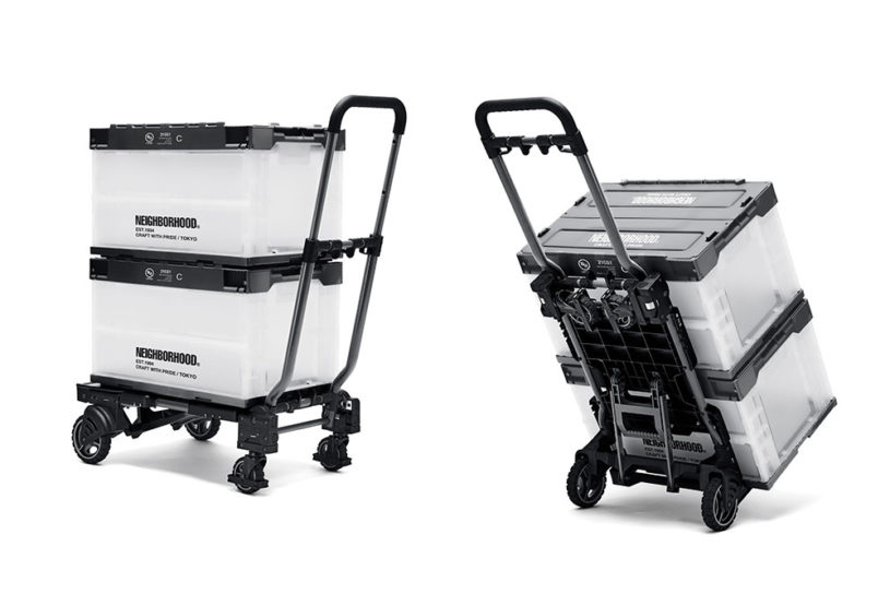 The first collaboration between Neighborhood and a popular transforming cart.