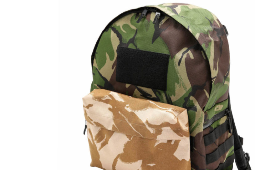 The first collaboration between BagJack and Nano Universe. An adventurous backpack that mixes two types of camouflage.