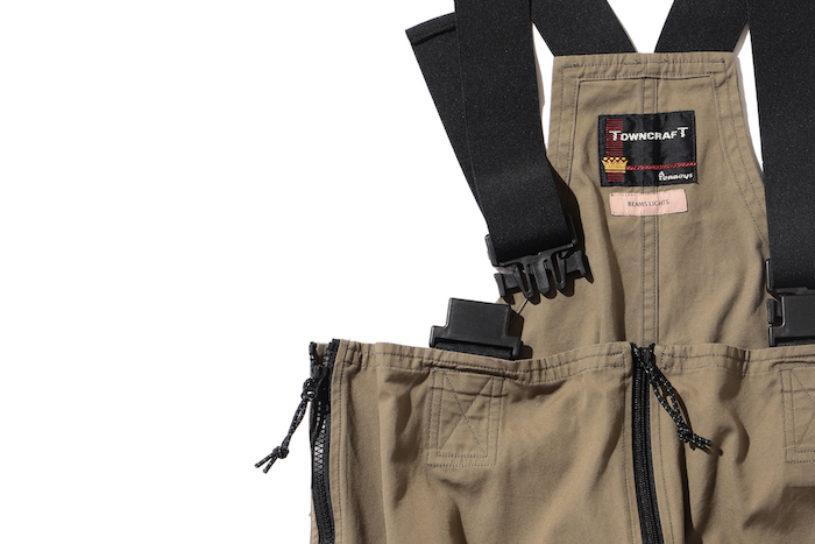 Bespoke urban style US Marine overalls from Beams Light.