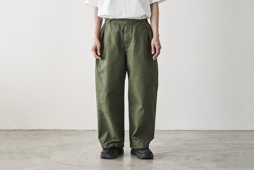 """A new brand called """"Tap Water"""" has been launched by Takayuki Minami & Daishi Nishino. Two types of pants based on personal belongings are now available."""