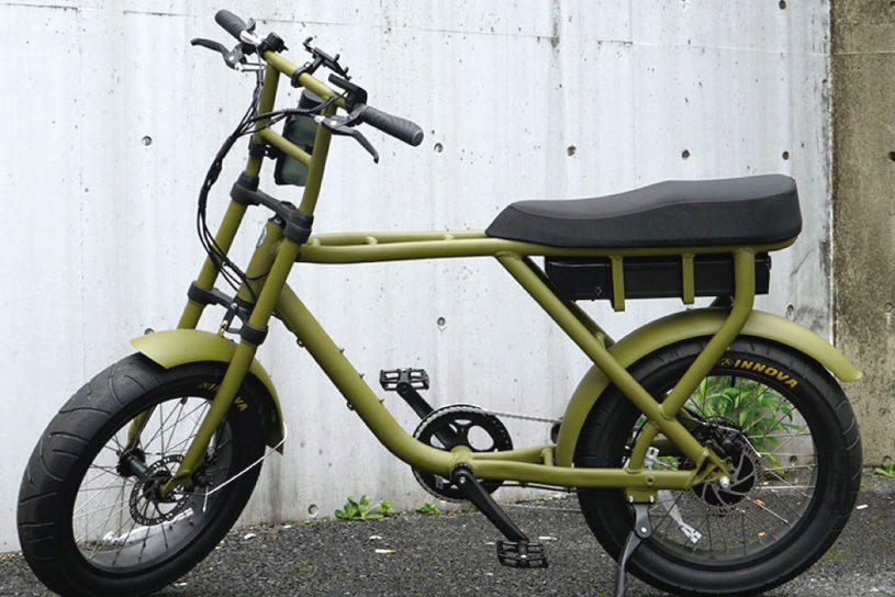 """JS Relum release a bespoke bike model with the popular and cool urban style e-BIKE """"Roca Flame""""."""