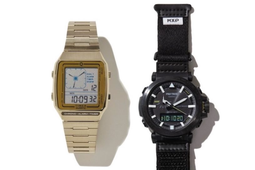 Retro-futuristic TIMEX and PRO TREK, a unique collaboration. Two featured watches you can buy now!