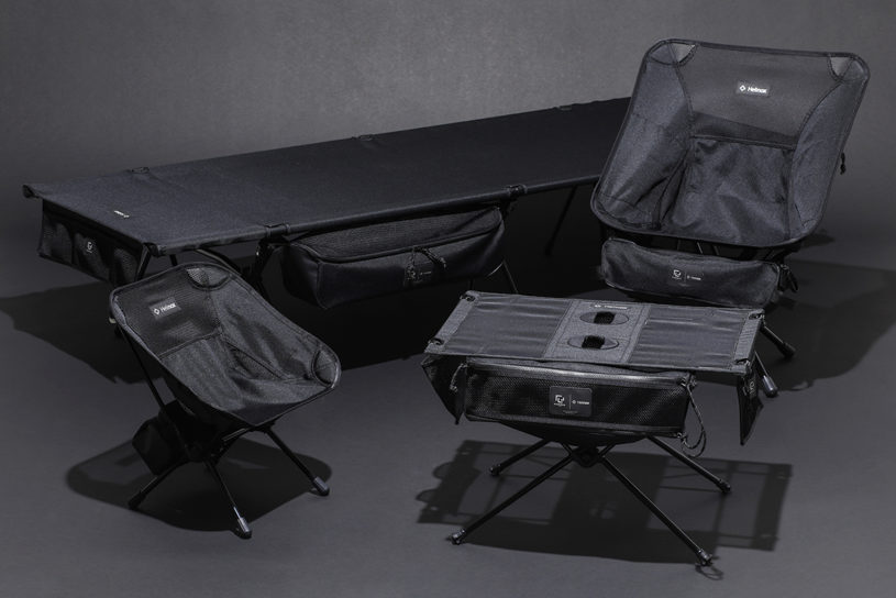 """Helinox and their excellent storage capacity has teamed up with """"Ramidus"""" for a unique new collaboration."""