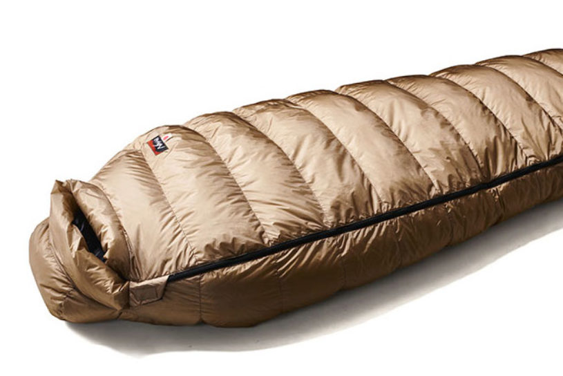 """The highest quality sleeping bag in Nanga history the """"LEVEL 8"""", for extremely cold -23 ℃ temperatures is now available."""