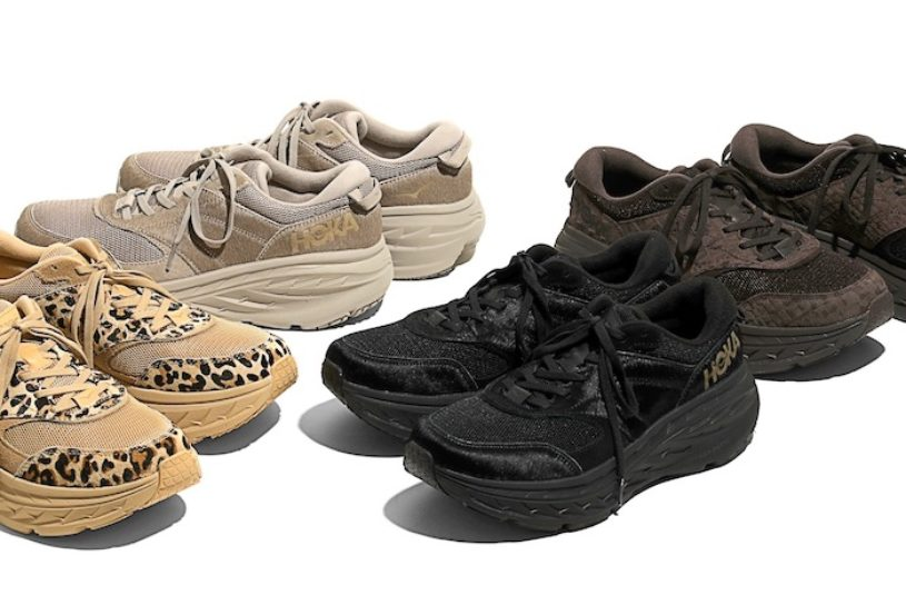 Engineered Garments x Hoka One One's long-awaited new project is a pair of innovative leather upper performance shoes.