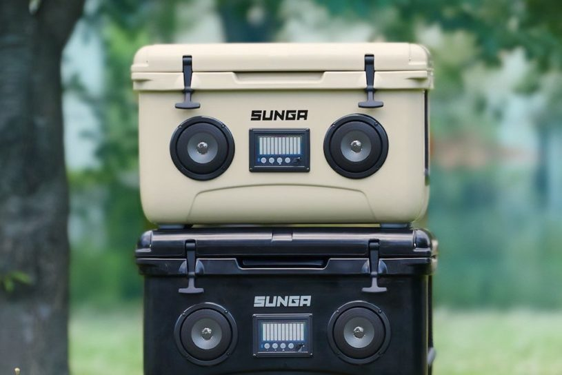 An idea we never dreamt could happen! Discover a super innovative cooler box with a built-in speaker !!