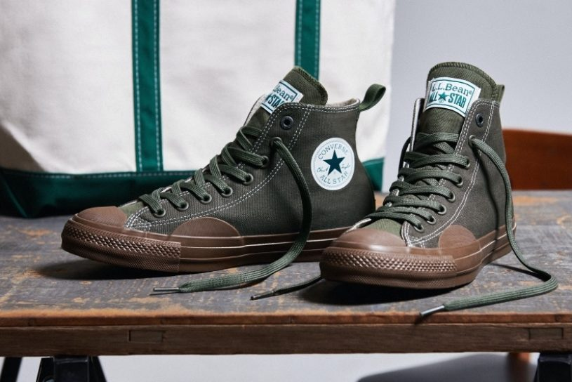 Bean Boots style All Stars! A collaboration model by Converse x L.L.Bean!