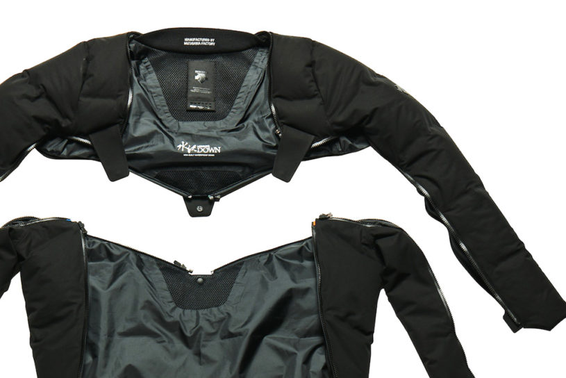 Descente's new down jacket can be worn in various unique combinations!