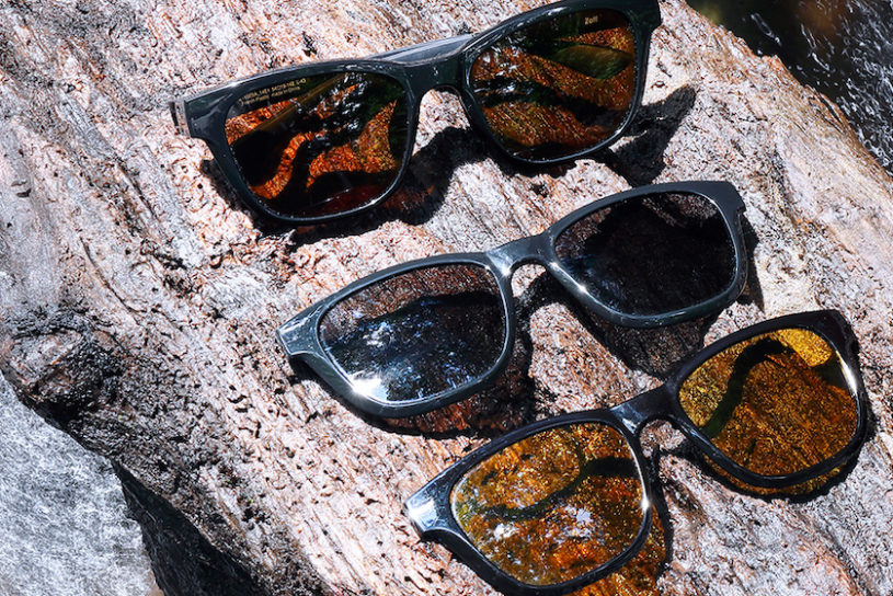 Polarized glasses for fishing from Zoff. 3 in one features thanks to the removable polarizing filter.